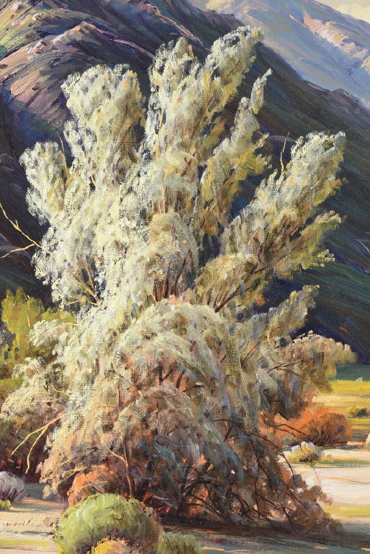 "PAUL GRIMM (American 1891-1974) A PAINTING, ""Desert - 6"