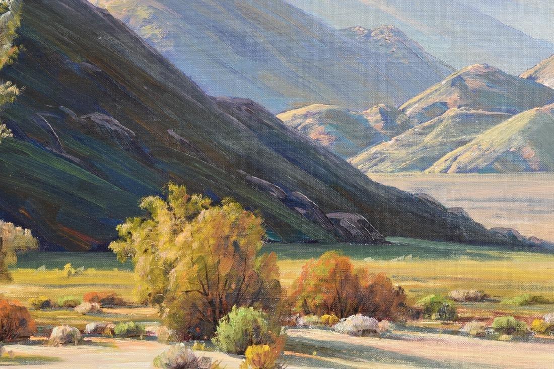 "PAUL GRIMM (American 1891-1974) A PAINTING, ""Desert - 7"