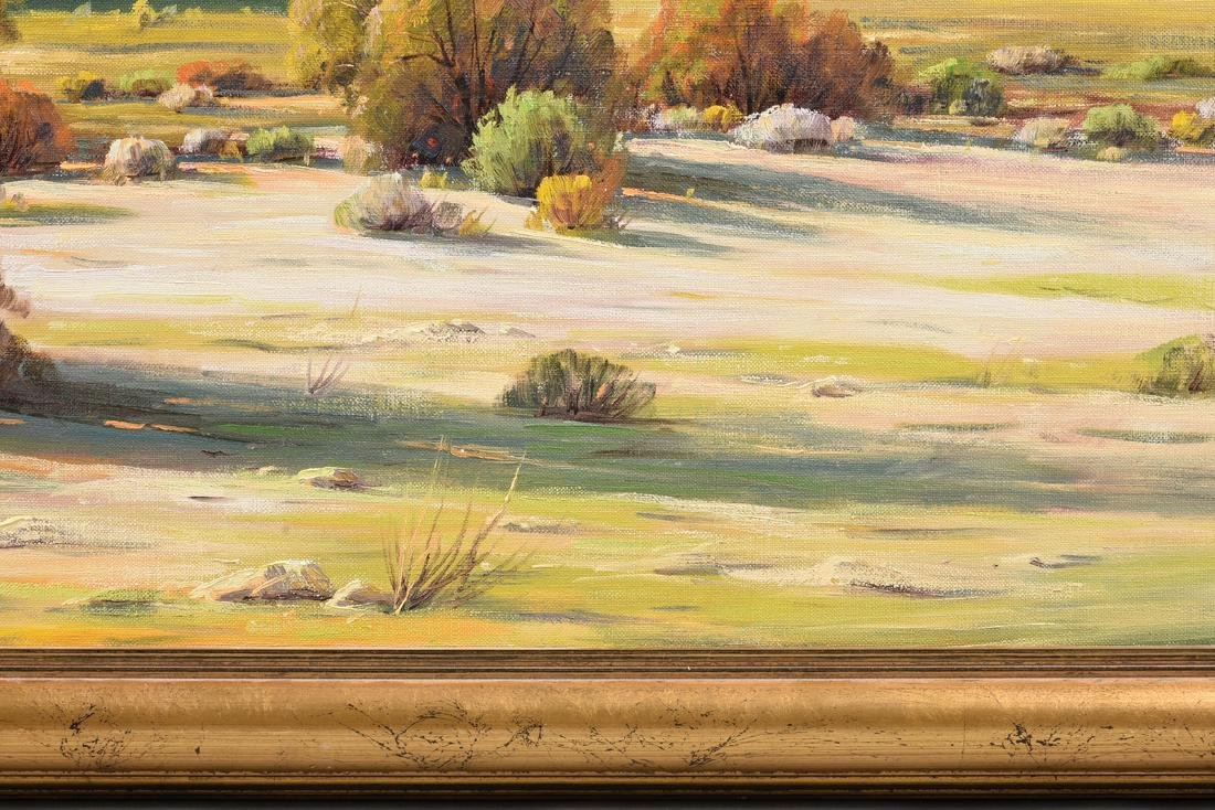 "PAUL GRIMM (American 1891-1974) A PAINTING, ""Desert - 8"