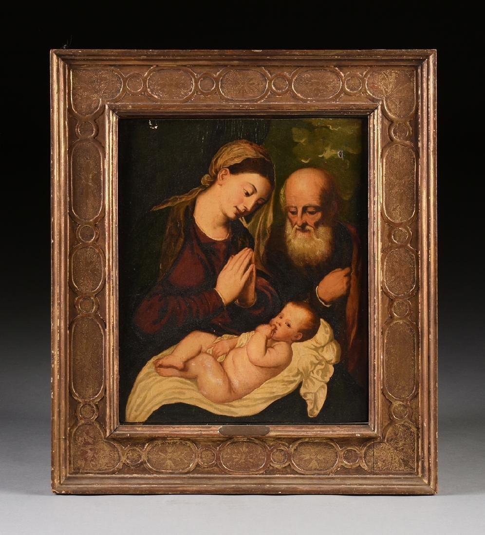"after BONIFACIO (Italian 1487-1533) A PAINTING, ""Christ - 2"