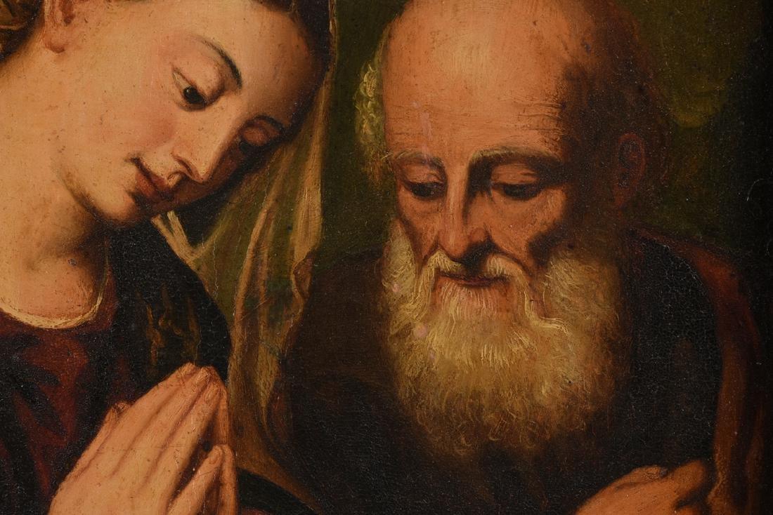 "after BONIFACIO (Italian 1487-1533) A PAINTING, ""Christ - 3"