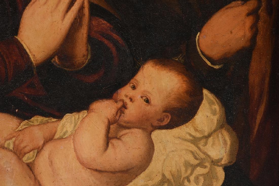 "after BONIFACIO (Italian 1487-1533) A PAINTING, ""Christ - 4"