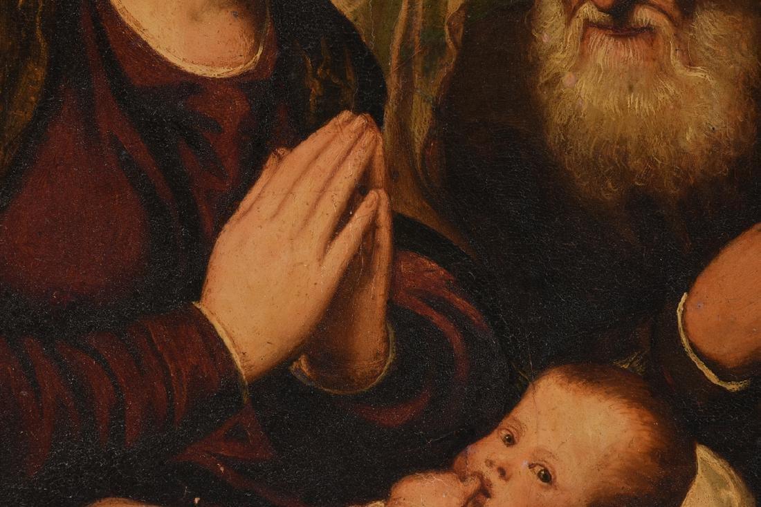 "after BONIFACIO (Italian 1487-1533) A PAINTING, ""Christ - 5"