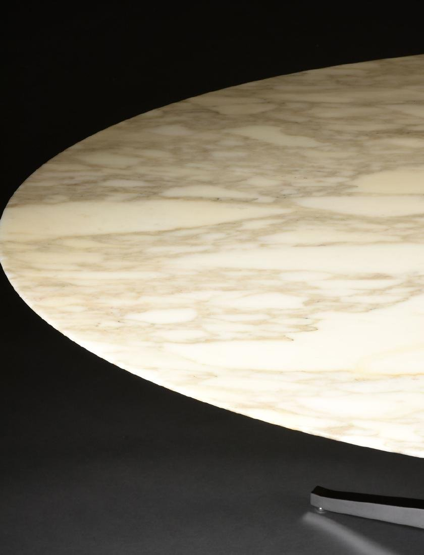 FLORENCE KNOLL (American b. 1917) AN OVAL MARBLE AND - 6