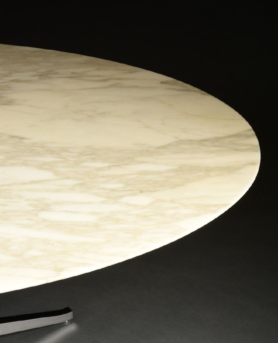 FLORENCE KNOLL (American b. 1917) AN OVAL MARBLE AND - 7