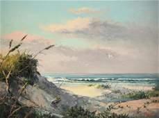 "DALHART WINDBERG (American b. 1933) A PAINTING, ""Beach"
