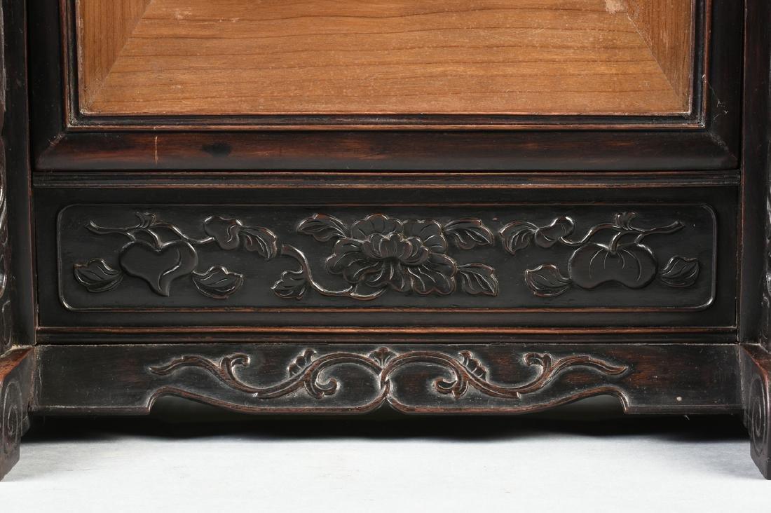 A QING DYNASTY (1644-1912) FAMILLE ROSE PORCELAIN - 6