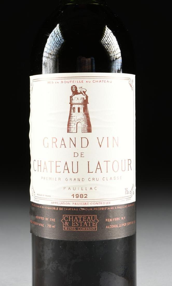 A BOTTLE OF 1982 GRAND VIN DE CHÂTEAU LATOUR, PREMIER - 3