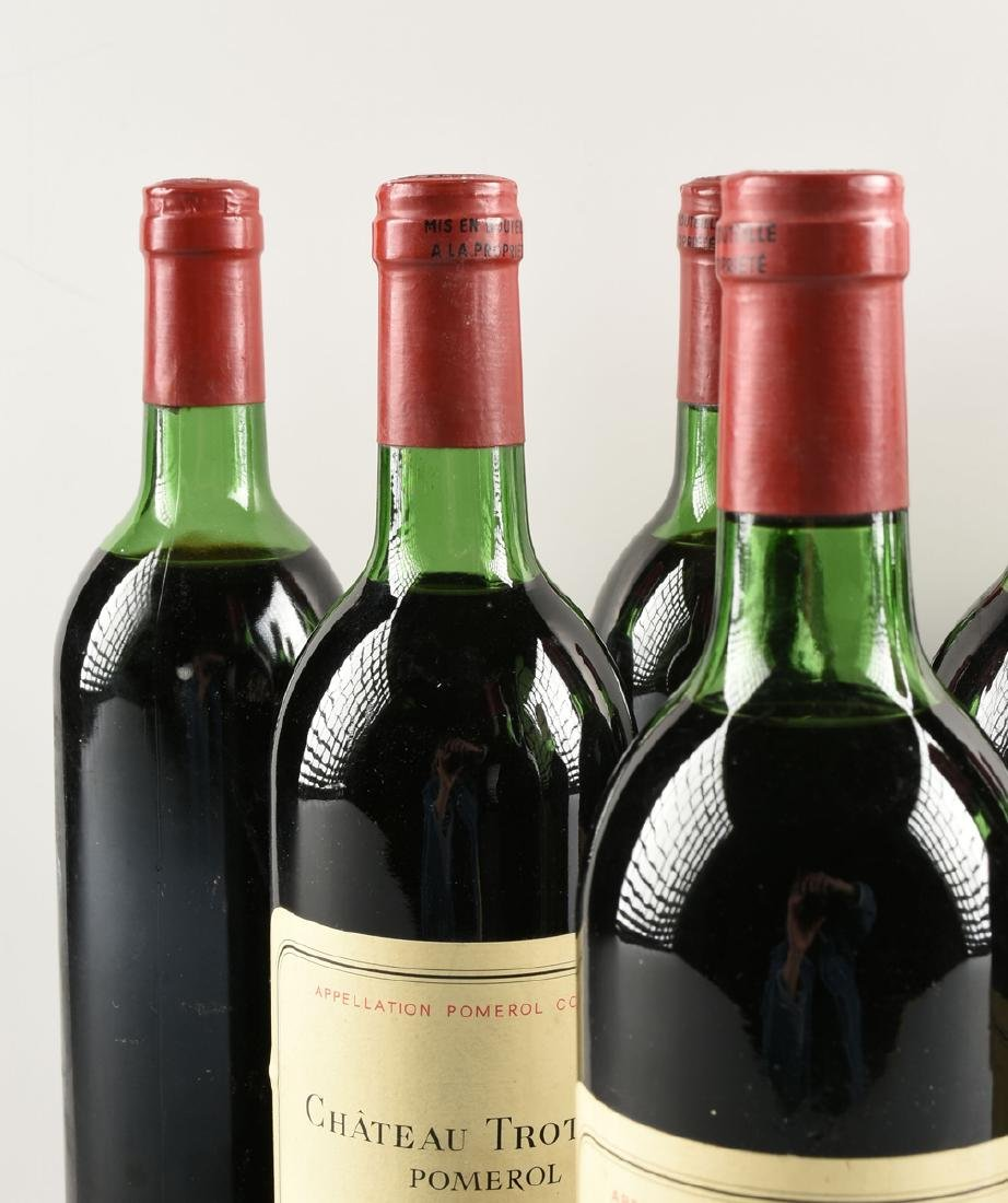 A GROUP OF NINE BOTTLES OF 1982 CHÂTEAU TROTANOY - 3