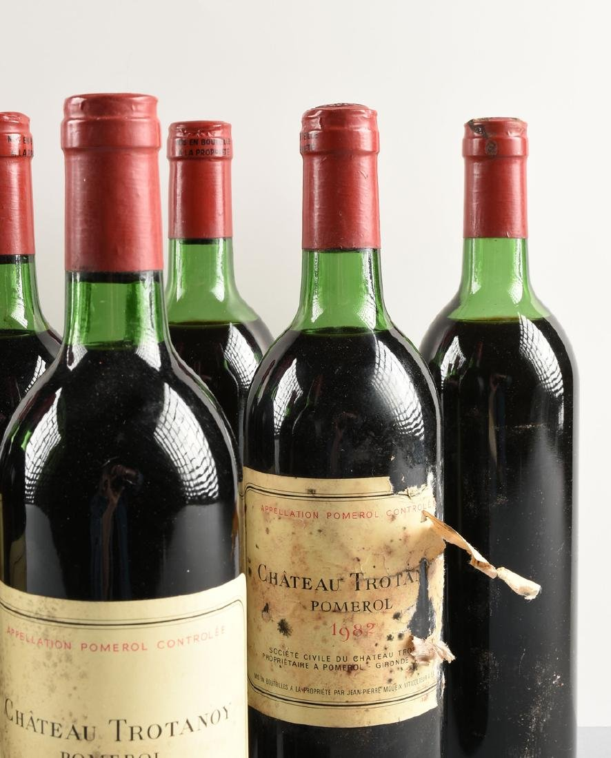 A GROUP OF NINE BOTTLES OF 1982 CHÂTEAU TROTANOY - 4