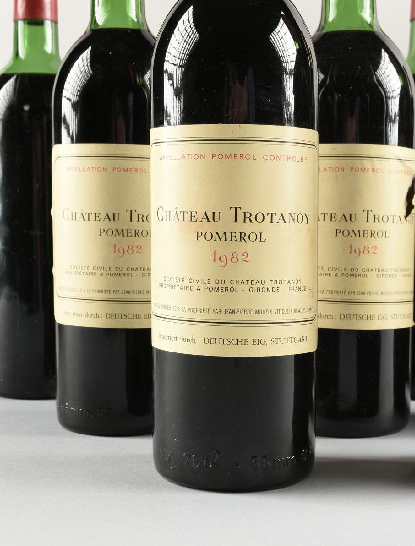 A GROUP OF NINE BOTTLES OF 1982 CHÂTEAU TROTANOY - 5