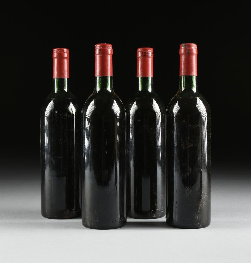 A GROUP OF NINE BOTTLES OF 1982 CHÂTEAU TROTANOY - 6