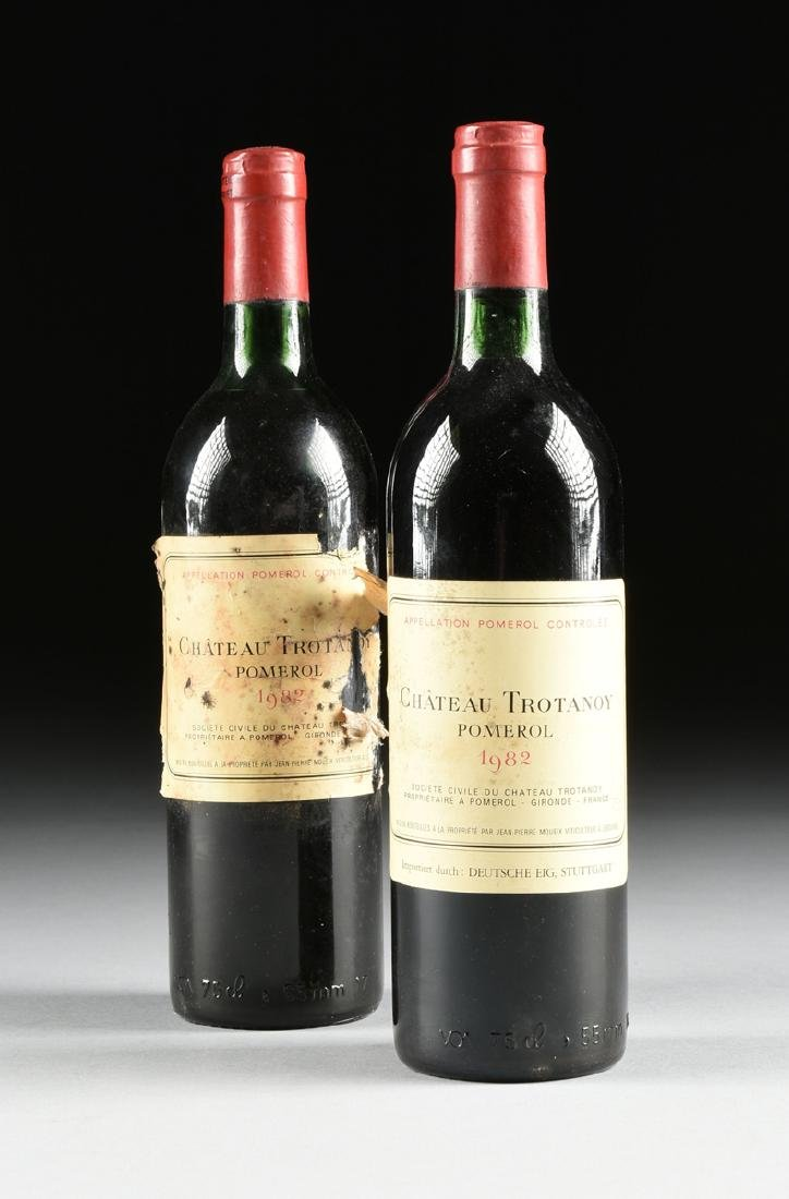 A GROUP OF NINE BOTTLES OF 1982 CHÂTEAU TROTANOY - 7