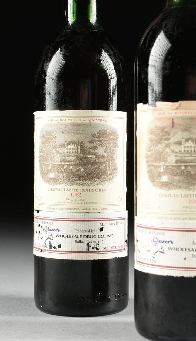 A GROUP OF TWO BOTTLES OF 1983 CHÂTEAU - 5