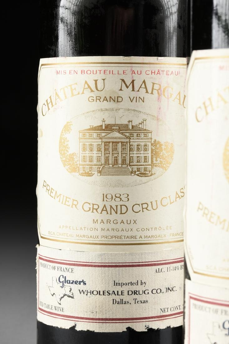 A GROUP OF THREE BOTTLES OF 1983 CHÂTEAU MARGAUX, - 2