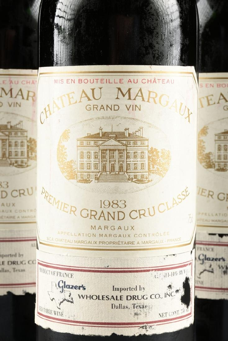 A GROUP OF THREE BOTTLES OF 1983 CHÂTEAU MARGAUX, - 3