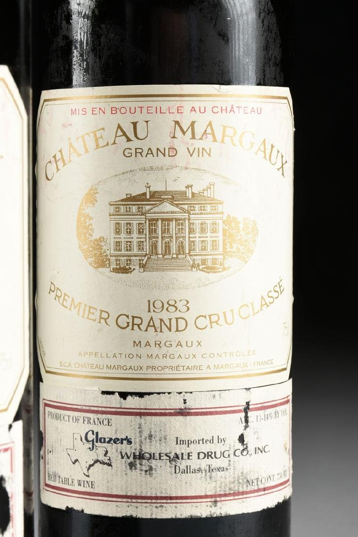 A GROUP OF THREE BOTTLES OF 1983 CHÂTEAU MARGAUX, - 4