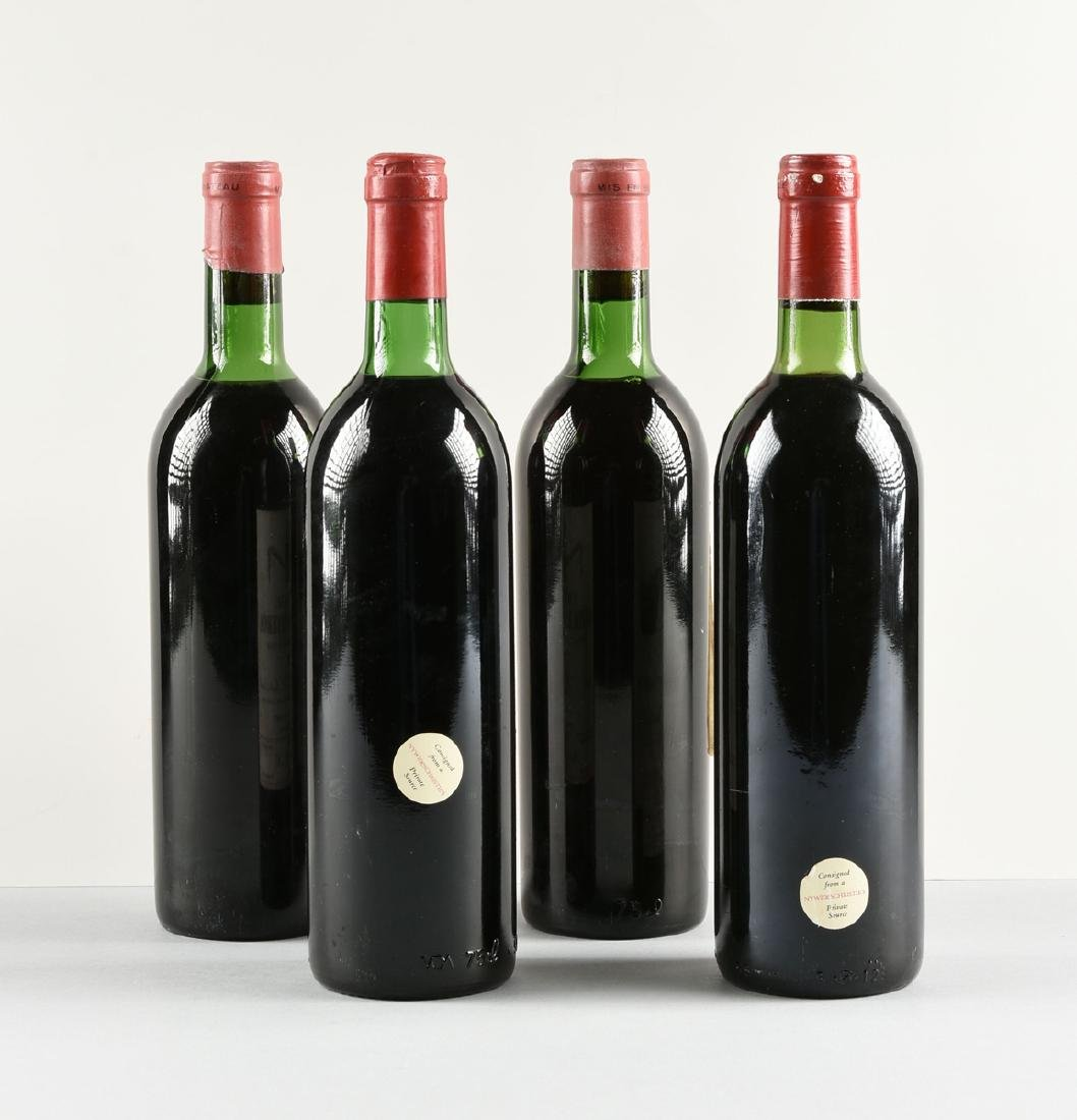 A GROUP OF FOUR BOTTLES OF FRENCH WINE, - 4