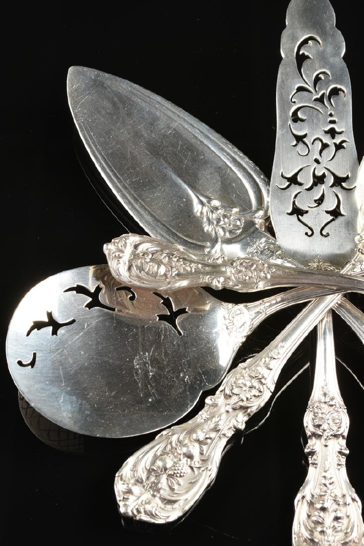 A GROUP OF SEVEN REED & BARTON STERLING SILVER SERVING - 3