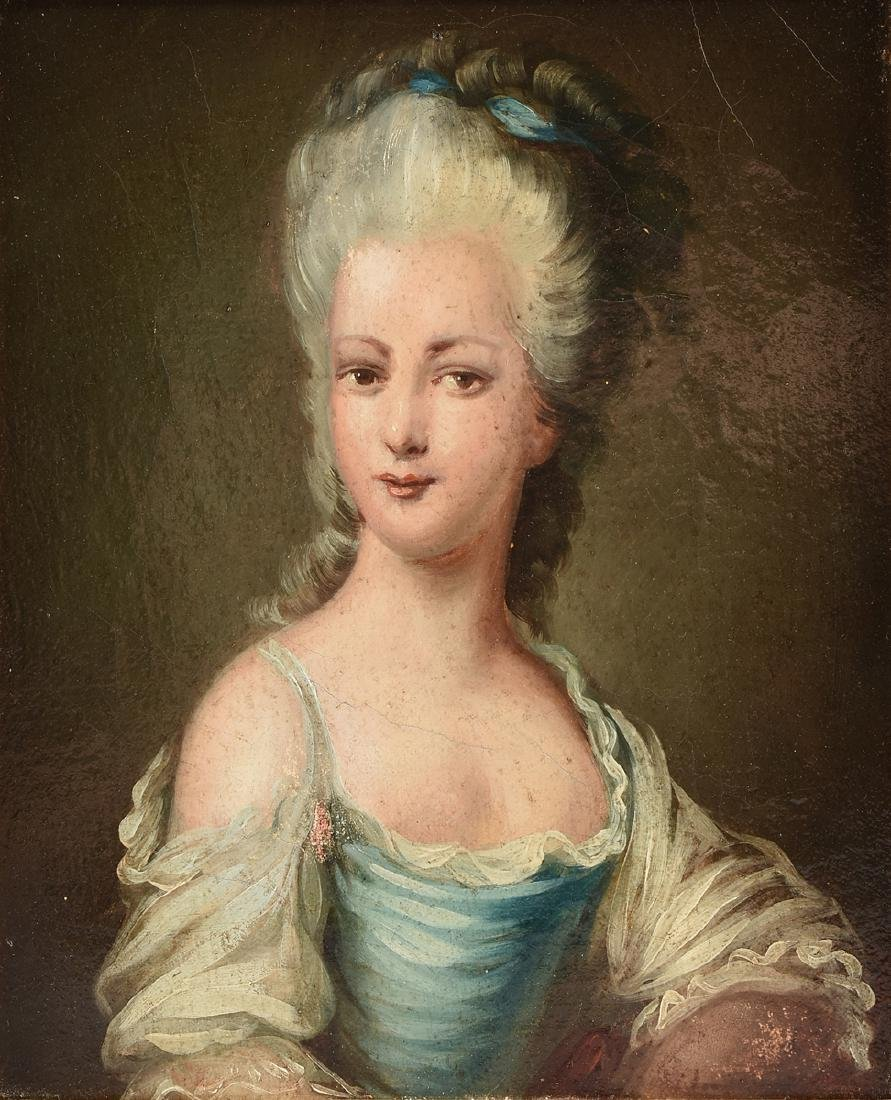 after ELISABETH LOUIS VIGEE-LEBRUN (French 1755-1842) A