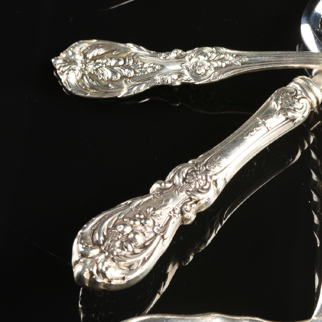 A GROUP OF FOUR REED & BARTON STERLING SILVER SERVING - 3