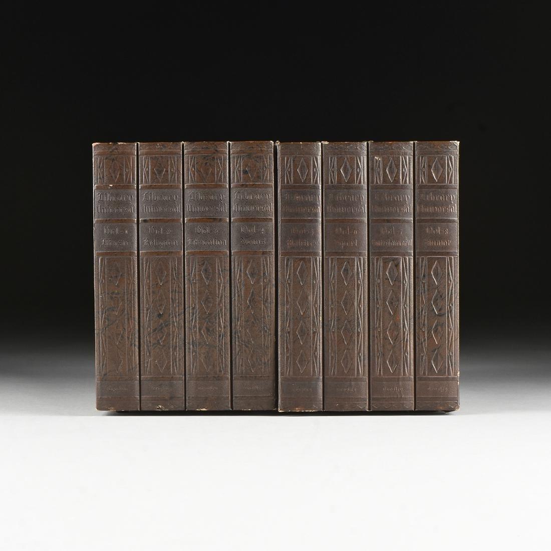"A CROSLEY MODEL 141 ""BOOK CASE / LIBRARY UNIVERSAL"""