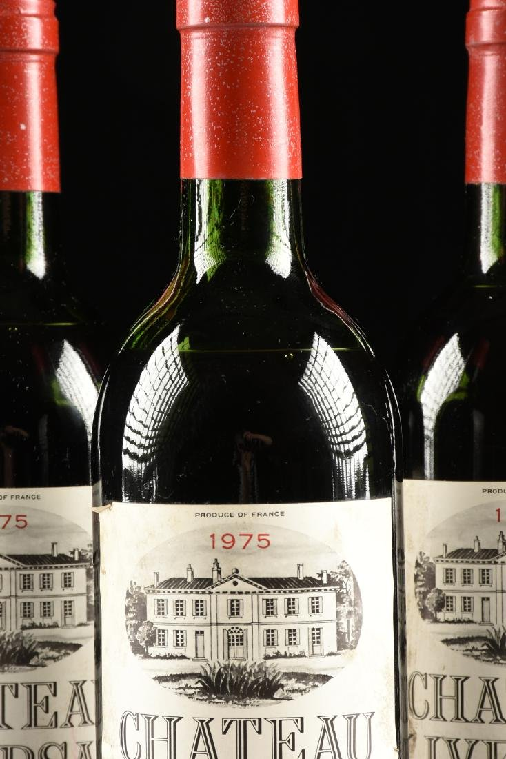 A GROUP OF THREE BOTTLES OF 1975 CHÂTEAU LIVERSAN WINE, - 6