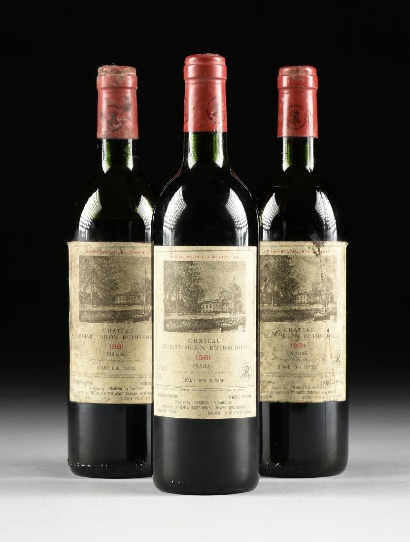 A GROUP OF THREE BOTTLES OF CHÂTEAU DUHART-MILON WINE,