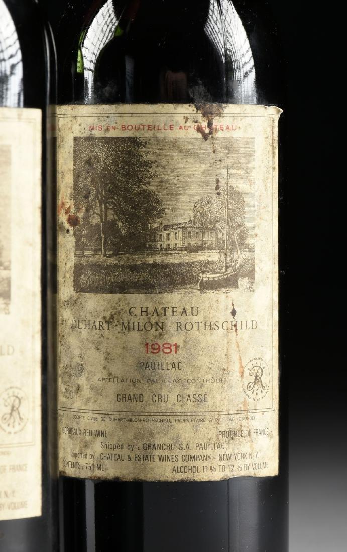 A GROUP OF THREE BOTTLES OF CHÂTEAU DUHART-MILON WINE, - 2