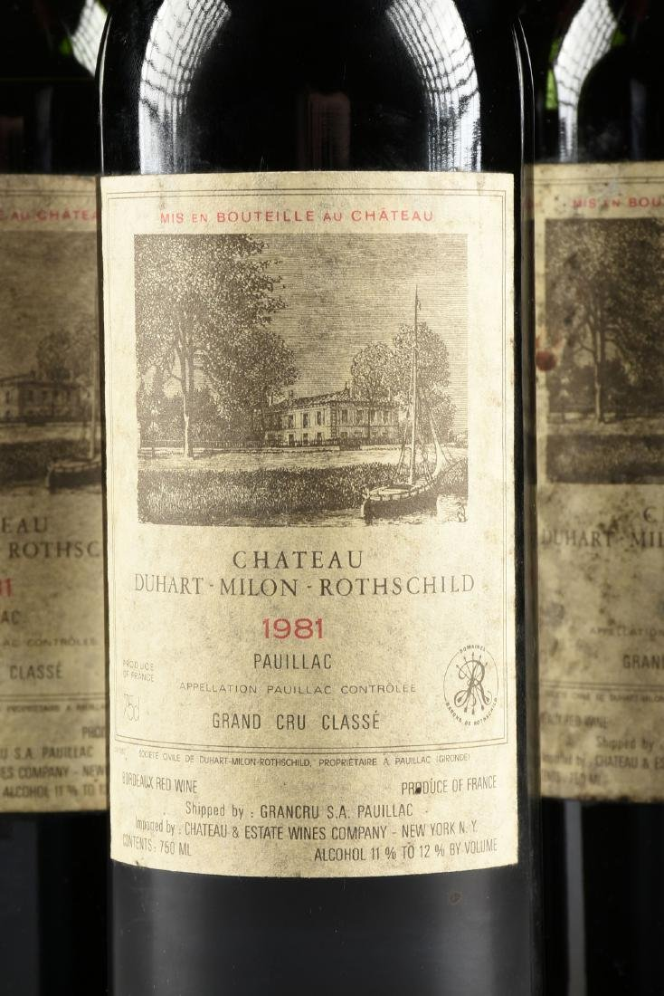 A GROUP OF THREE BOTTLES OF CHÂTEAU DUHART-MILON WINE, - 3