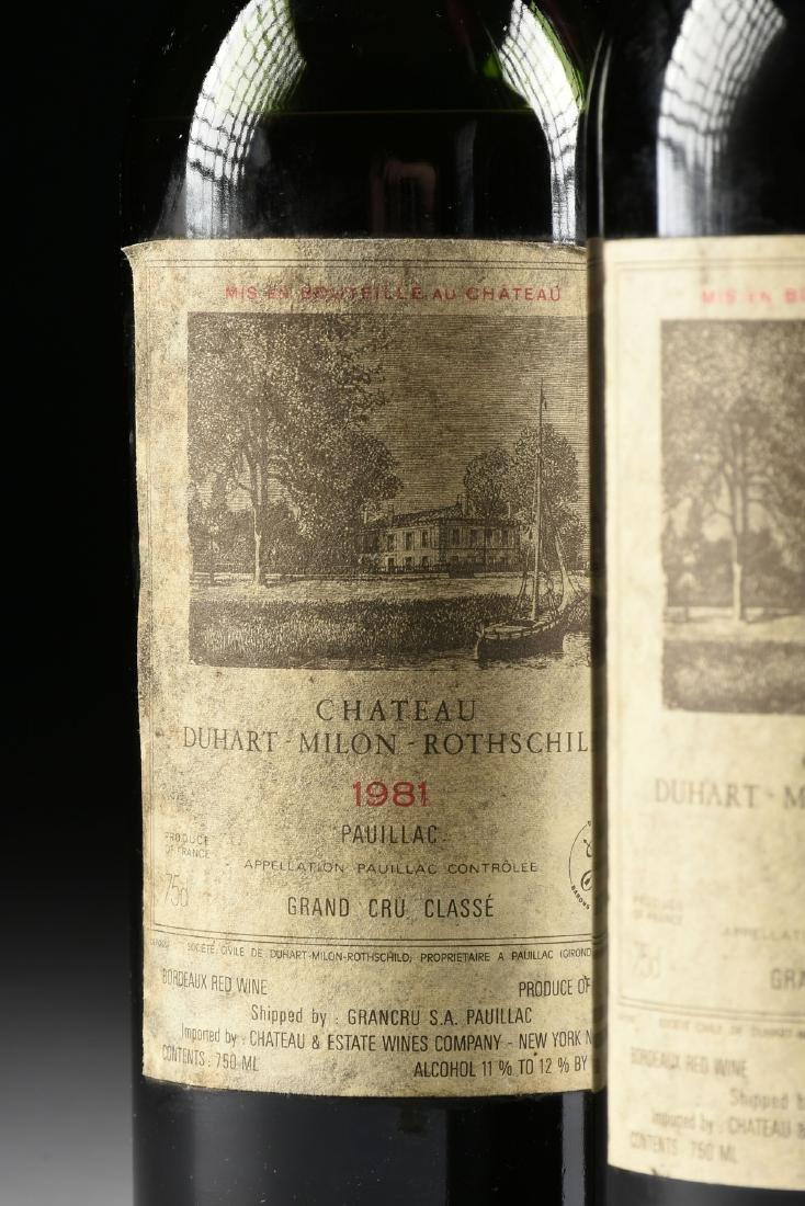 A GROUP OF THREE BOTTLES OF CHÂTEAU DUHART-MILON WINE, - 4