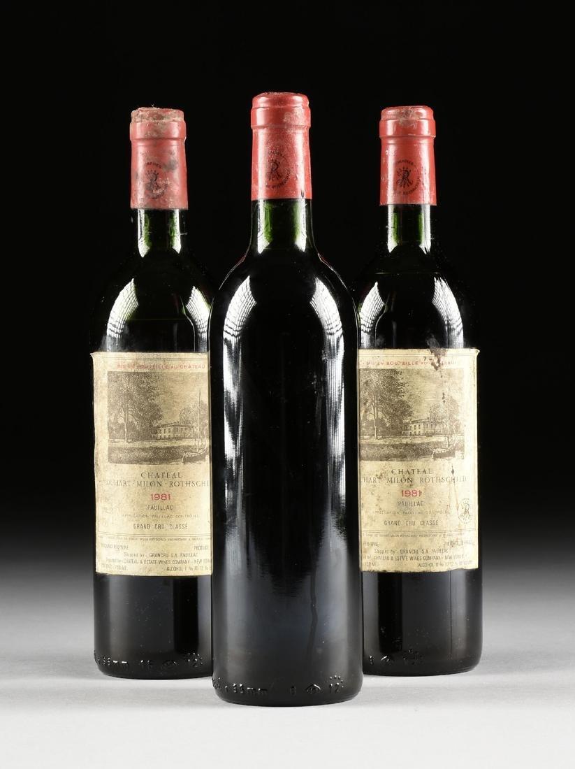 A GROUP OF THREE BOTTLES OF CHÂTEAU DUHART-MILON WINE, - 8
