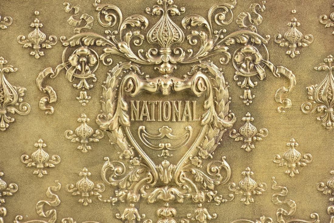 A NATIONAL CASH REGISTER COMPANY BRASS, OAK, AND - 10