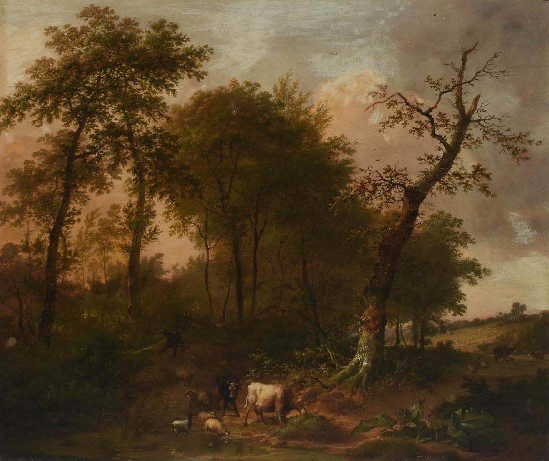 EUGENE VERBOECKHOVEN (Belgian 1798/99-1881) A PAINTING,