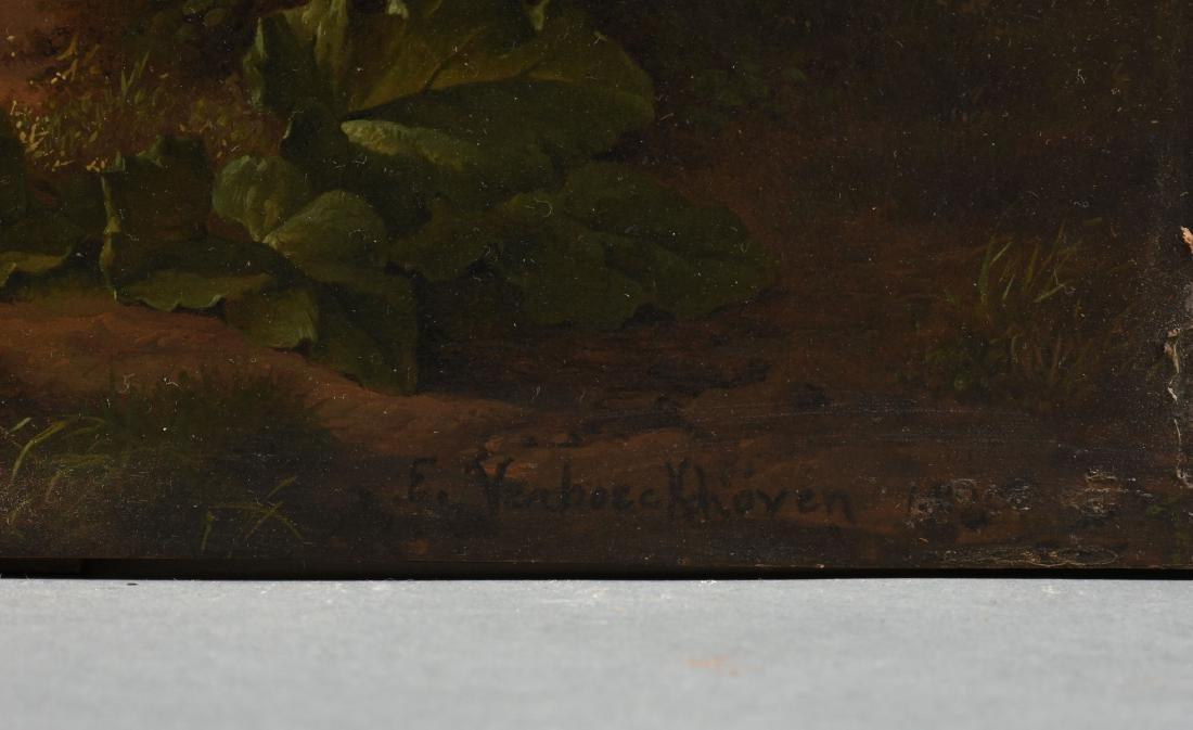 EUGENE VERBOECKHOVEN (Belgian 1798/99-1881) A PAINTING, - 2