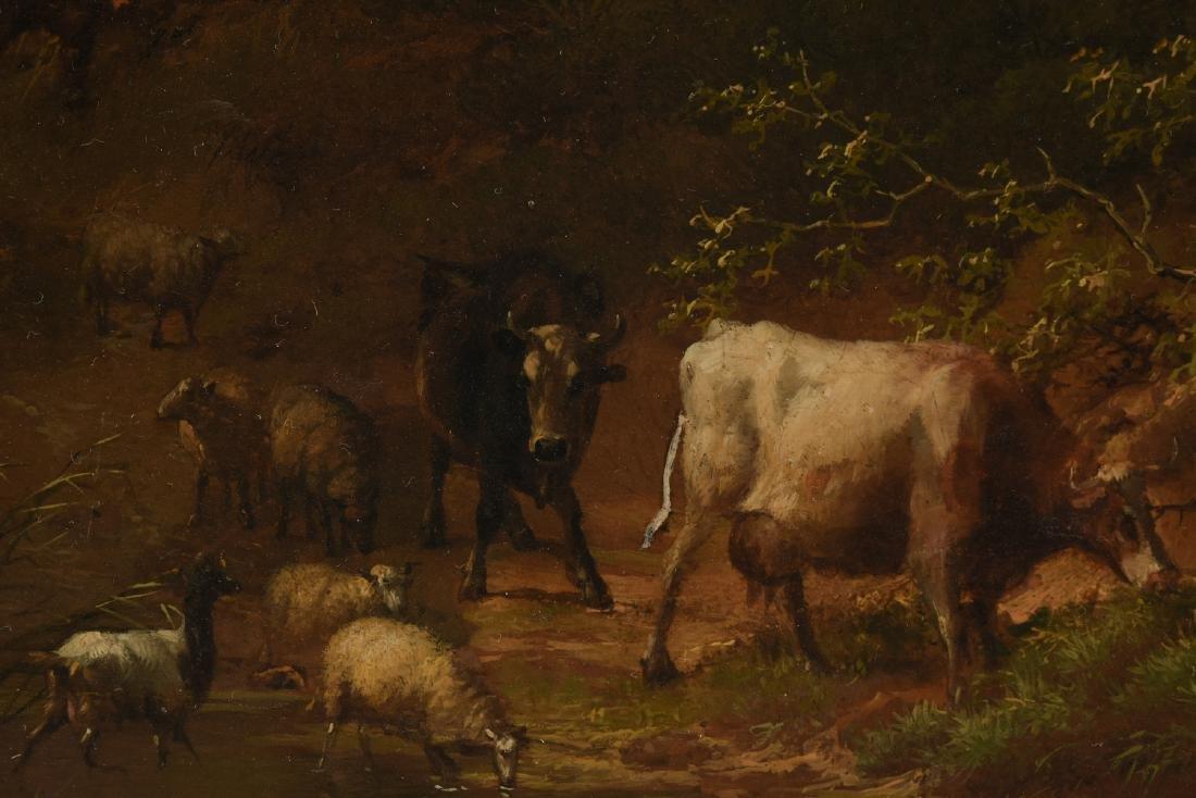 EUGENE VERBOECKHOVEN (Belgian 1798/99-1881) A PAINTING, - 3