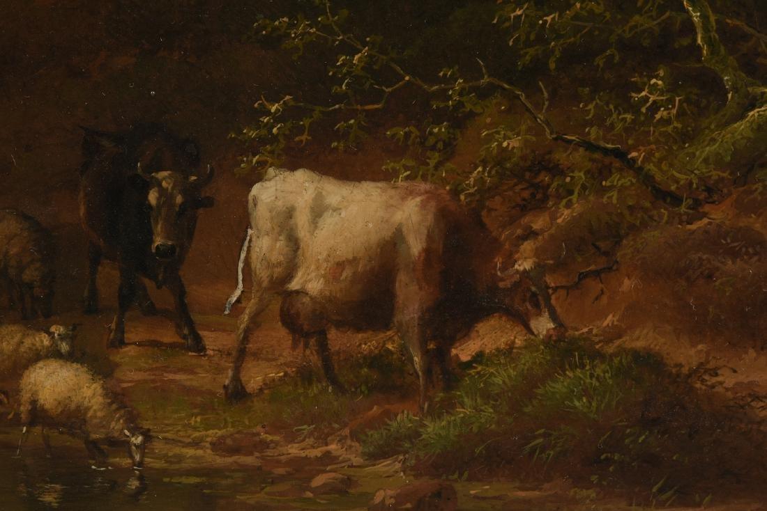 EUGENE VERBOECKHOVEN (Belgian 1798/99-1881) A PAINTING, - 4
