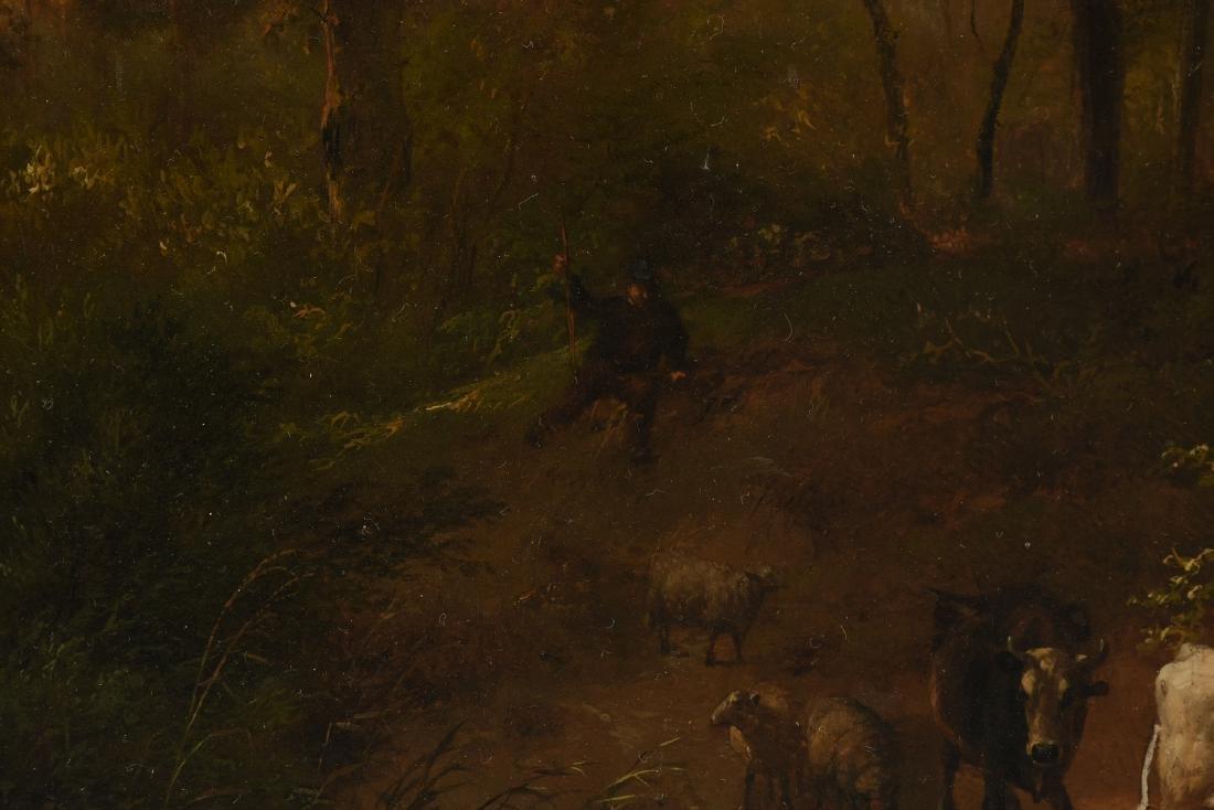 EUGENE VERBOECKHOVEN (Belgian 1798/99-1881) A PAINTING, - 5