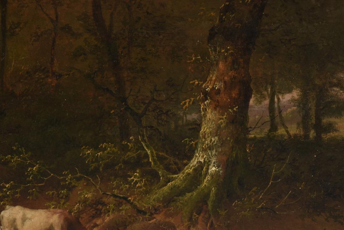 EUGENE VERBOECKHOVEN (Belgian 1798/99-1881) A PAINTING, - 6