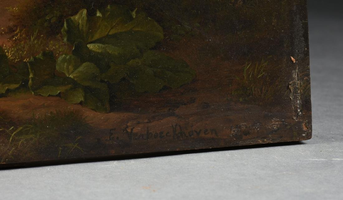 EUGENE VERBOECKHOVEN (Belgian 1798/99-1881) A PAINTING, - 8