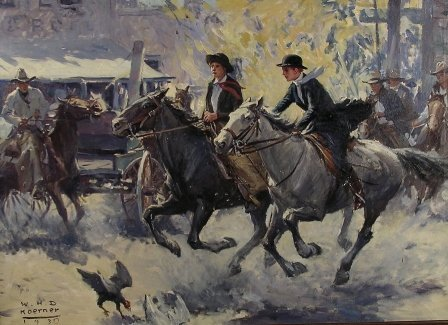 340: WILLIAM HENRY DETHLEF KOERNER (American 1878-1938)