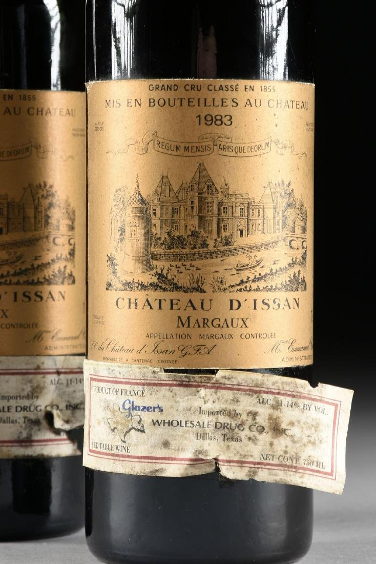 A GROUP OF TWO BOTTLE OF 1983 CHÂTEAU D'ISSAN WINE, - 2