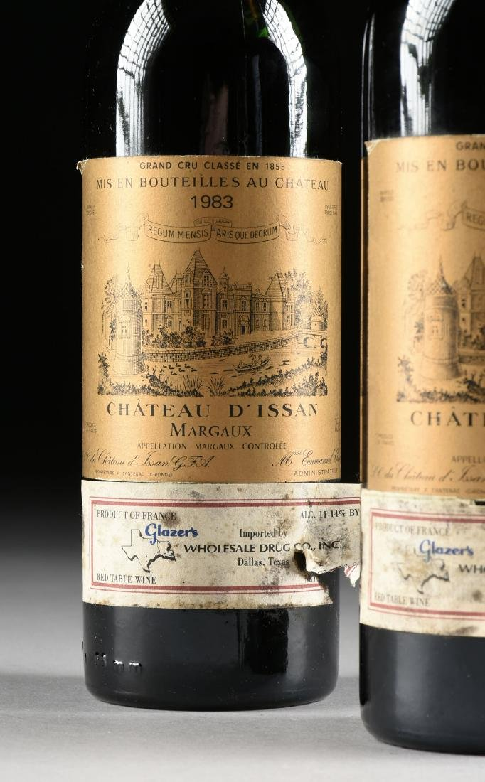 A GROUP OF TWO BOTTLE OF 1983 CHÂTEAU D'ISSAN WINE, - 3