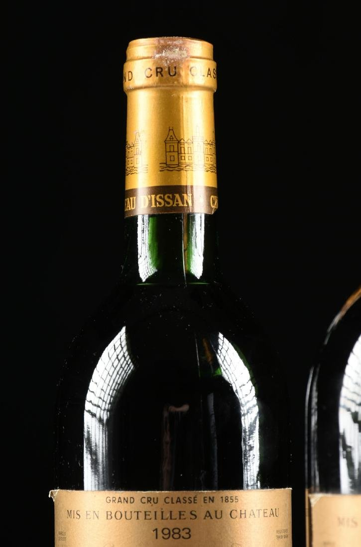 A GROUP OF TWO BOTTLE OF 1983 CHÂTEAU D'ISSAN WINE, - 5