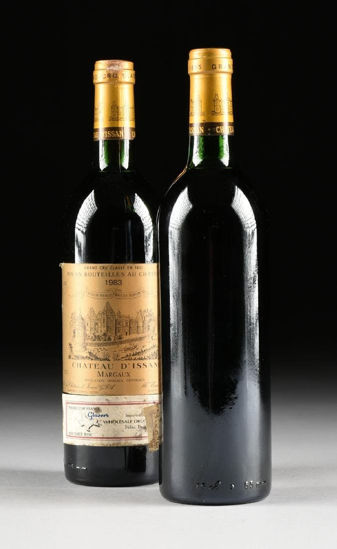A GROUP OF TWO BOTTLE OF 1983 CHÂTEAU D'ISSAN WINE, - 6