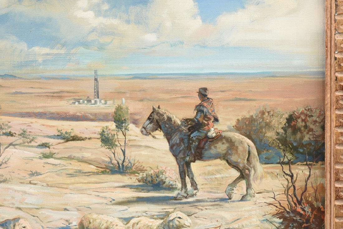 JOSEPH SILHOVA (American 20th Century) A PAINTING, - 6