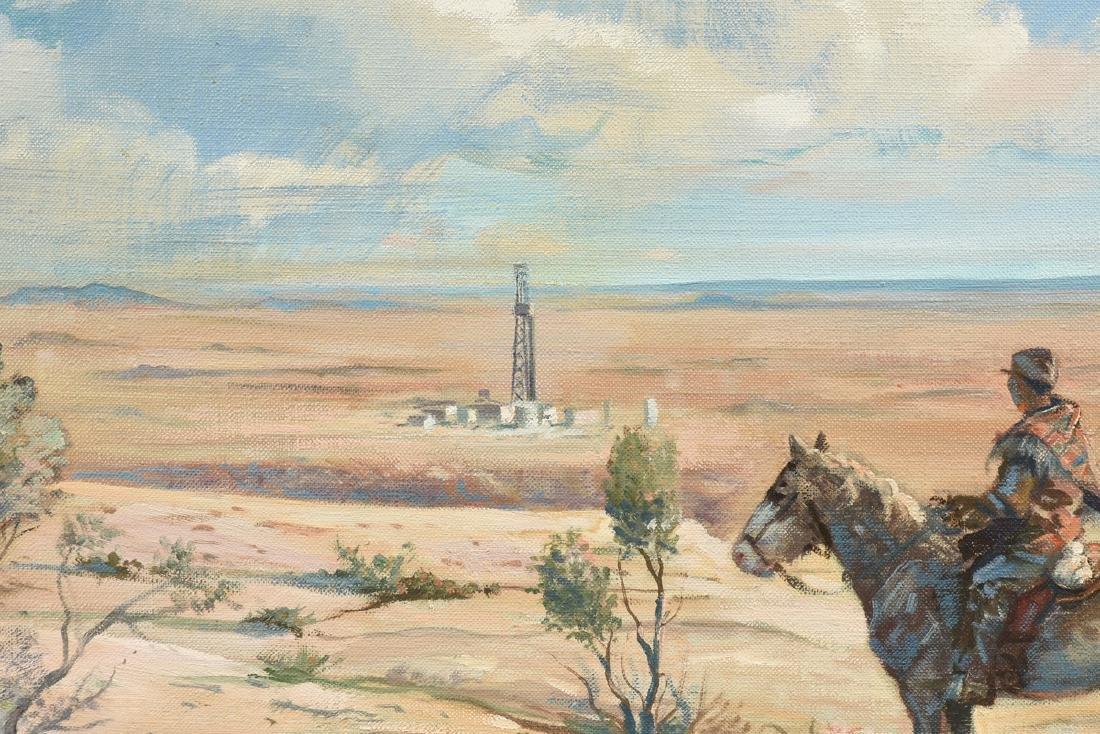 JOSEPH SILHOVA (American 20th Century) A PAINTING, - 7
