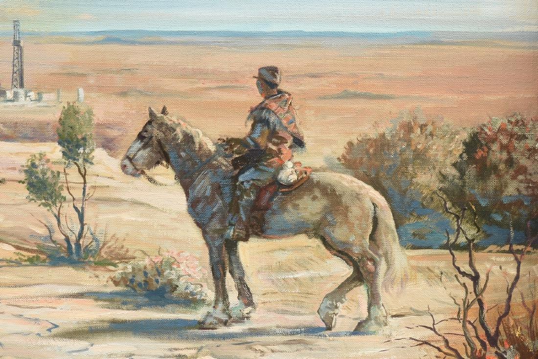 JOSEPH SILHOVA (American 20th Century) A PAINTING, - 9