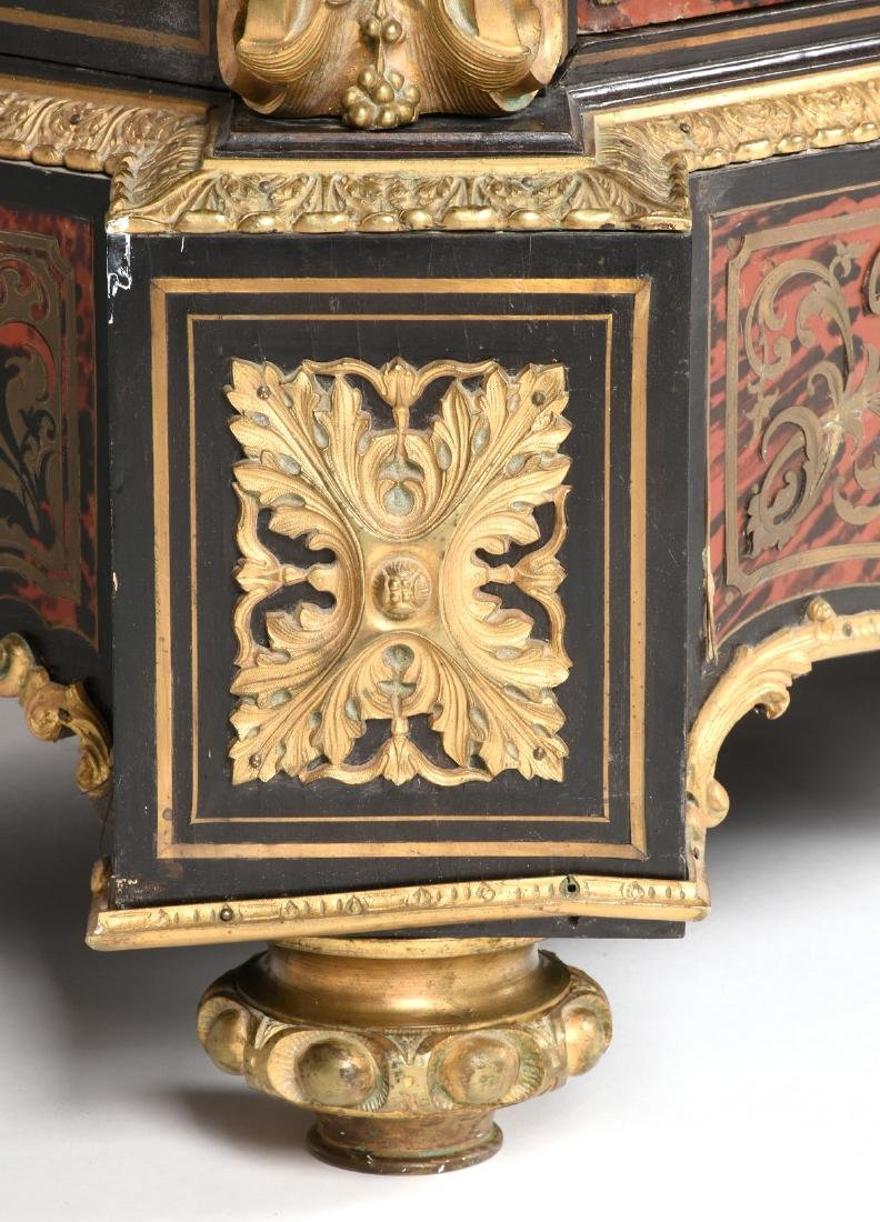 A FRENCH NAPOLEON III PERIOD GILT BRONZE MOUNTED RED - 9