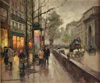 "ÉDOUARD CORTÈS (French 1882-1969) A PAINTING, ""Port St."